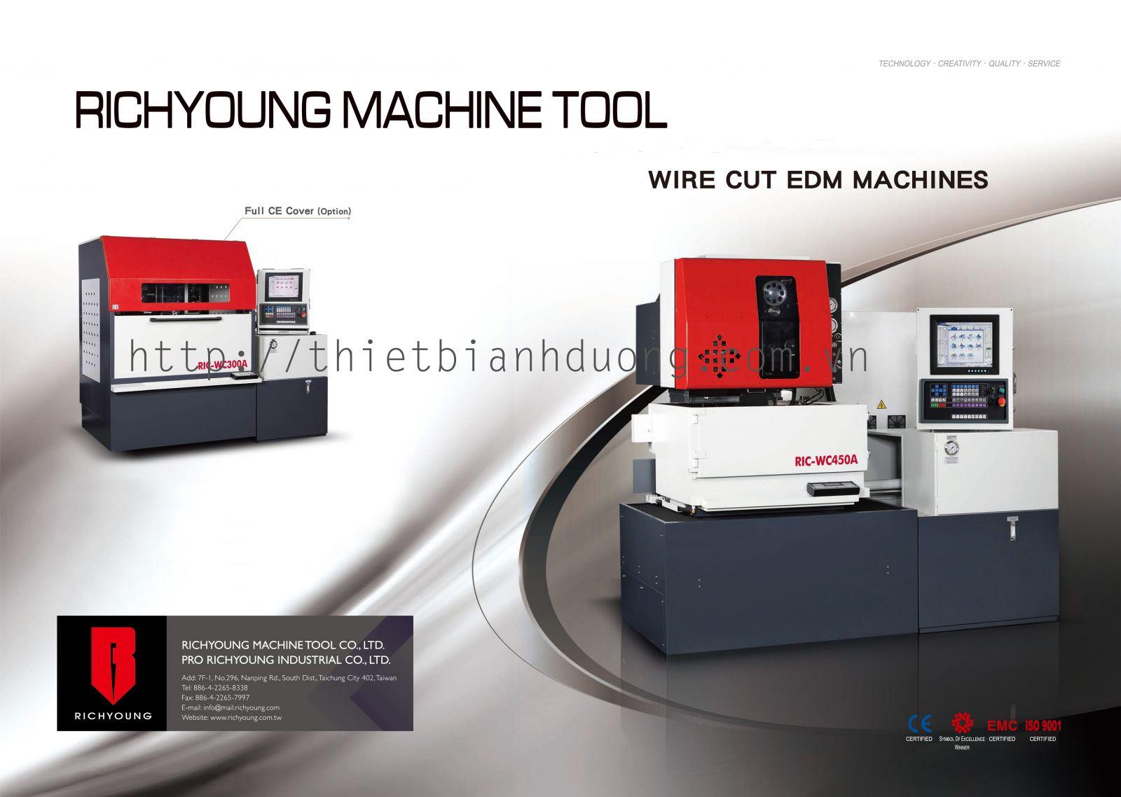 Máy cắt dây RIC-WC300A